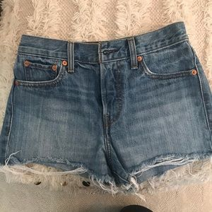 Jean Levi shorts from Free People
